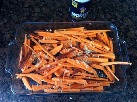Zuccini And Potato Fries
