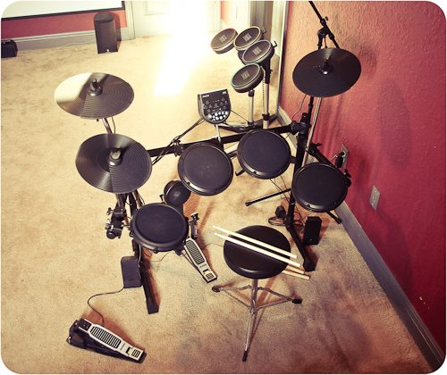 My first Drumset
