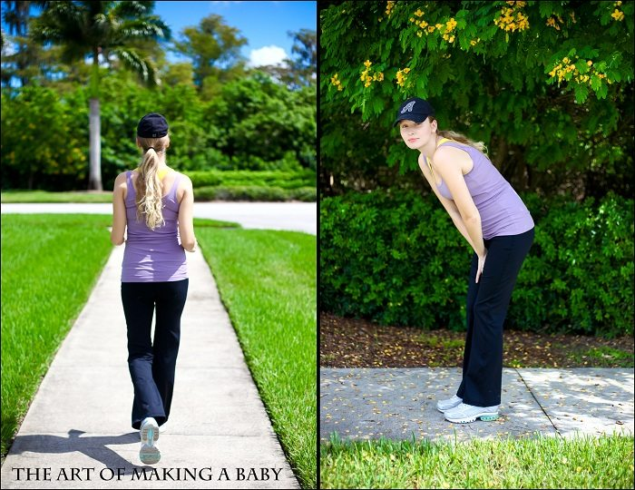 Maternity Activewear and (Pre-)Pregnancy Fitness Test