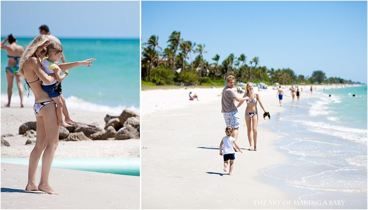 Florida Beach trips with my family