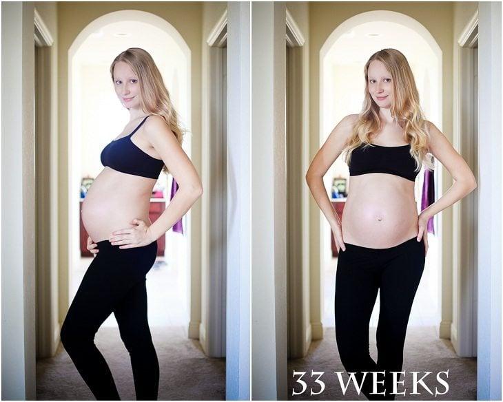 33 Weeks: Bump Update