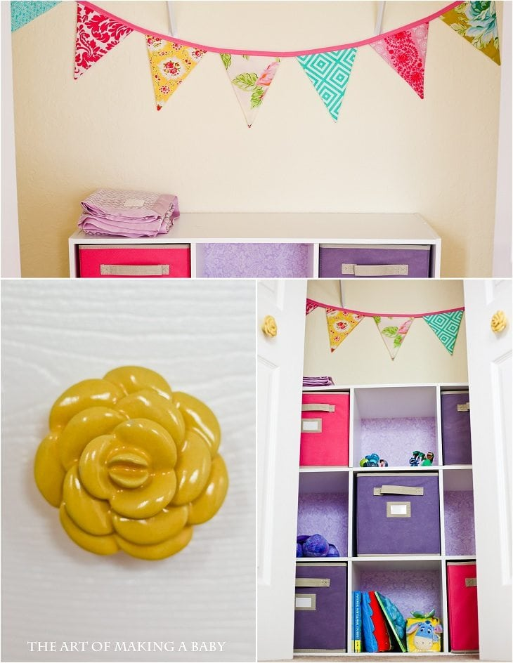 NURSERY UPDATE: Part II {bits and pieces}