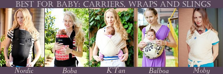Best For Baby: Boba Carrier