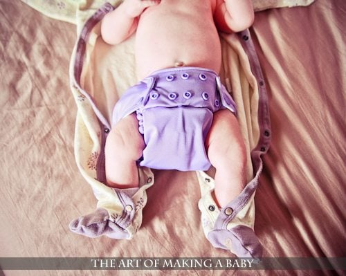 Cloth Diapering: How It's Going