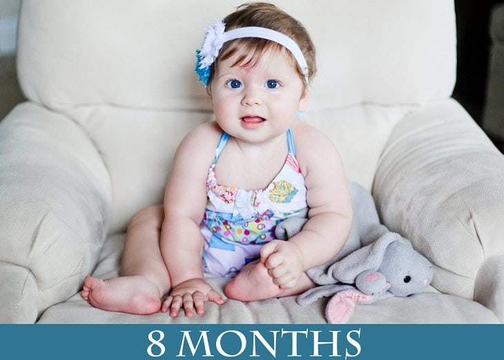8 Months Picture and Outtakes