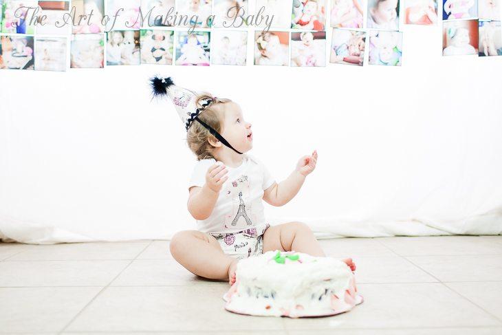 First Birthday Party: Smash Cake
