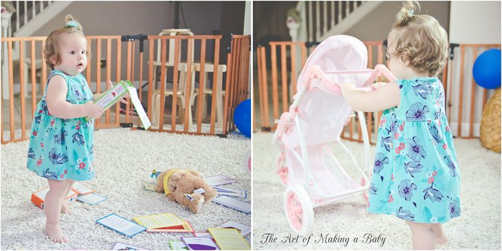 First Birthday: Morning Of & Gift Opening