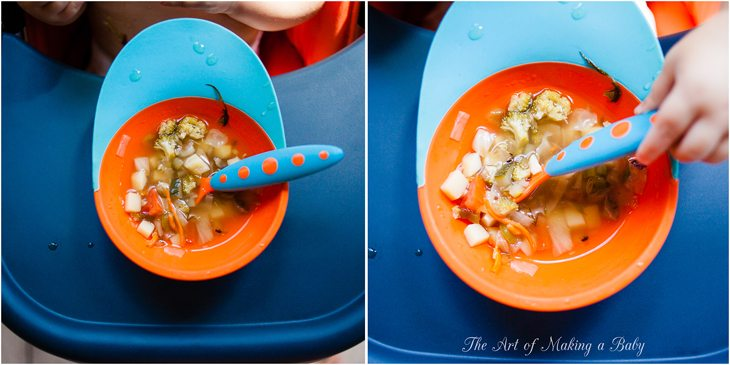 Toddler Vegetable Soup