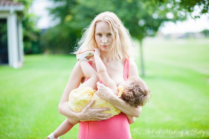 Toddler Routines: Breastfeeding