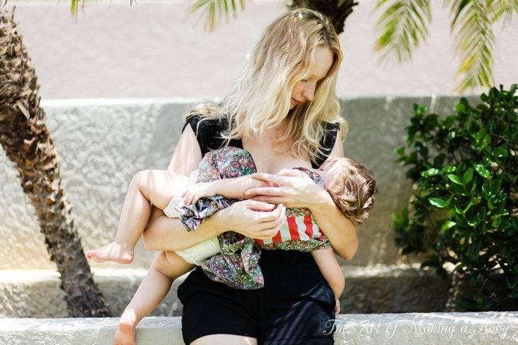 Toddler Routines: Breastfeeding