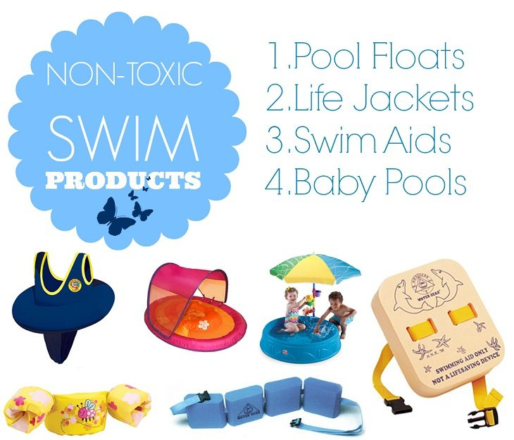 8 Non-Toxic and PVC Free Baby Pools, Floaties, Life Jackets and Swim Aids