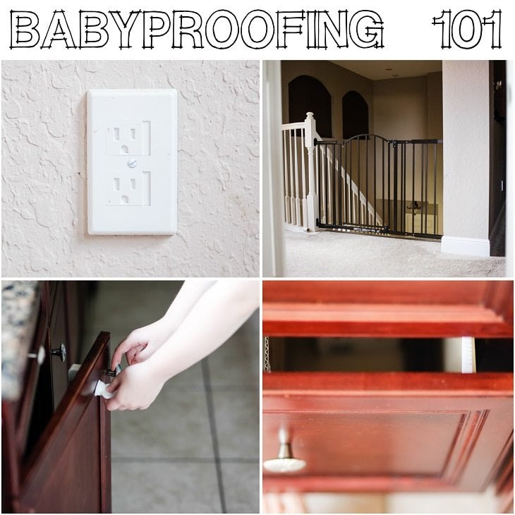 Baby Proofing 101, easy way to go about making your house safe.