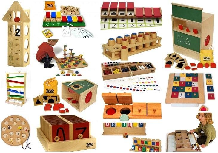 Educational Monterssori style Toys