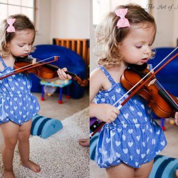 Budding Violinist?