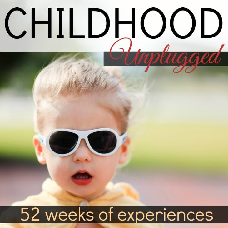 """52 Weeks Of Childhood Unplugged"", An Experience Scavenger Hunt!"