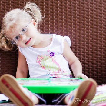 Baby's Got Glasses And What We, As Parents, Should Know About Sight!