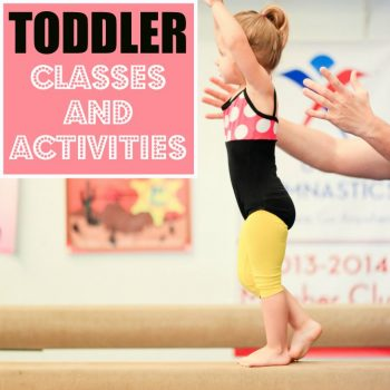Toddler Classes And Activities