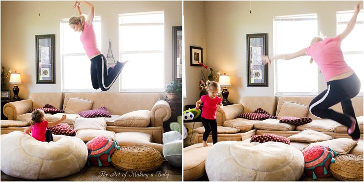 Couch Jumping- Week 1 Of 52 Weeks Of Experiences