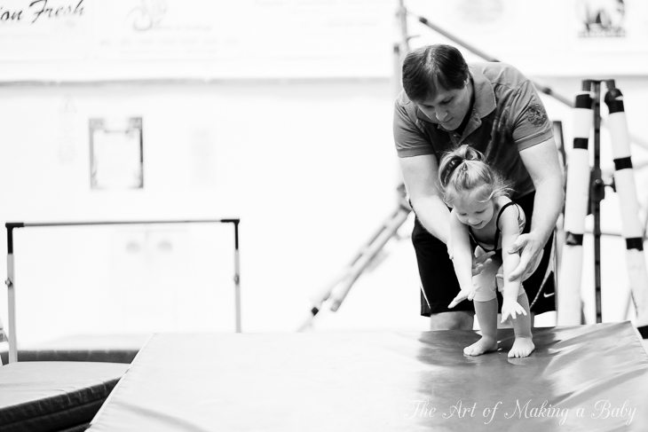 Toddler Gymnastics In Pictures