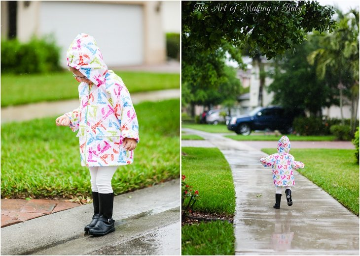 Puddle Splashing And Fort Building – Week 4 Of 52 Weeks Of Experiences