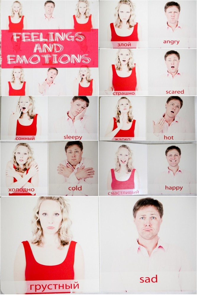 Baby emotions book