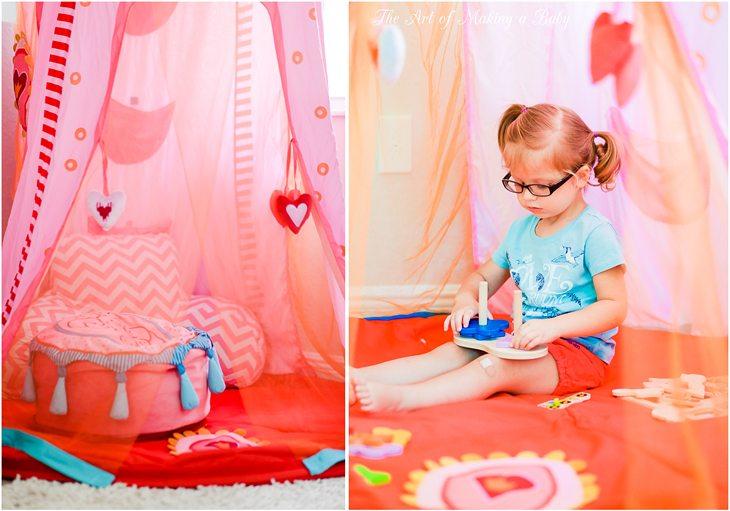 Creating A Green Playroom: Non-toxic Play Tents