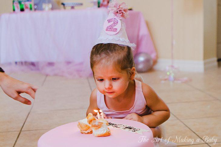 Swan Birthday: Birthday Cake