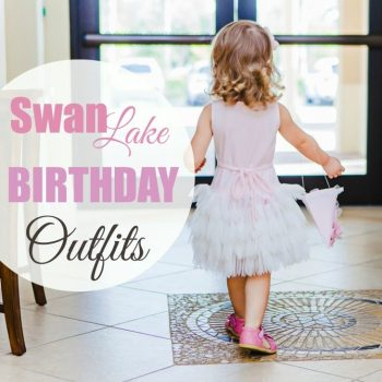 2nd Birthday Party Outfits: Swan Lake