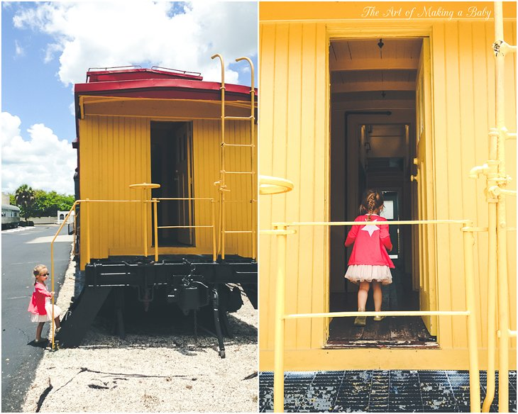 A Visit To A Train Museum – Week 12 Of 52 Weeks Of Experiences