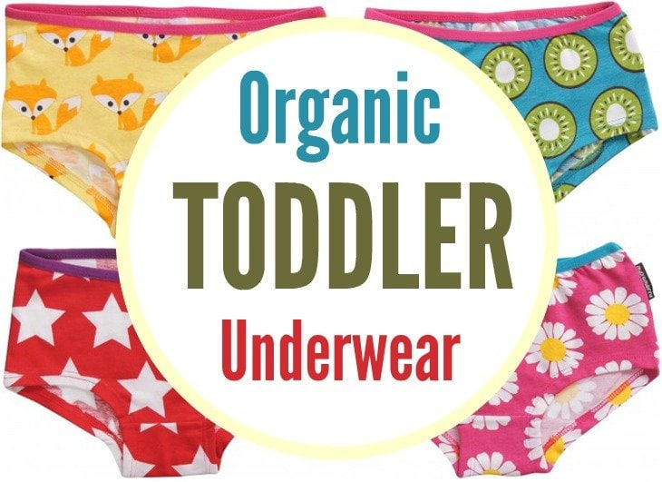 Organic Toddler Underwear Round Up