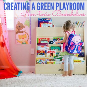 Front Facing Bookshelves: Creating A Green Playroom And Voracious Readers