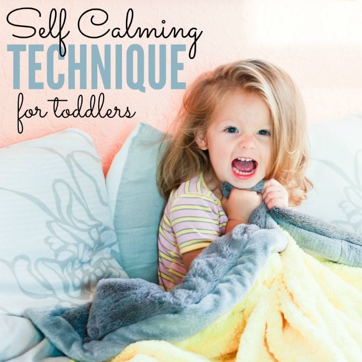 Self-calming Technique For Toddlers