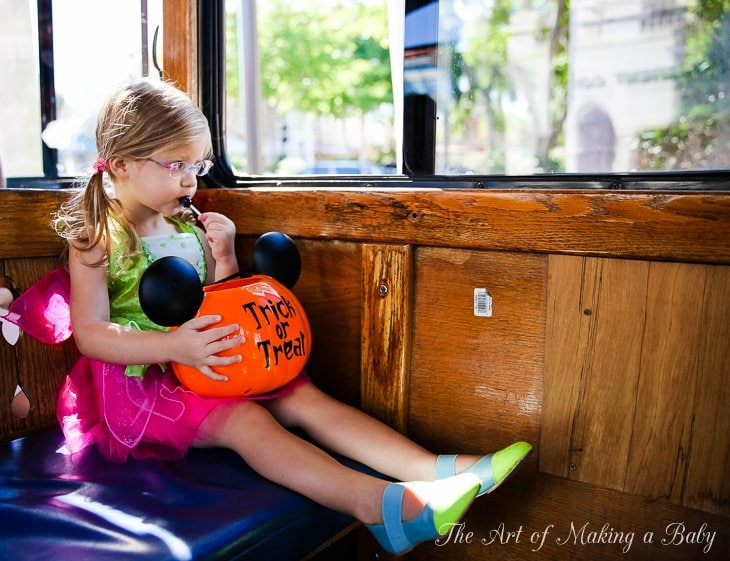 Halloween Parties And Trick Or Treating: 2.5 Years Old