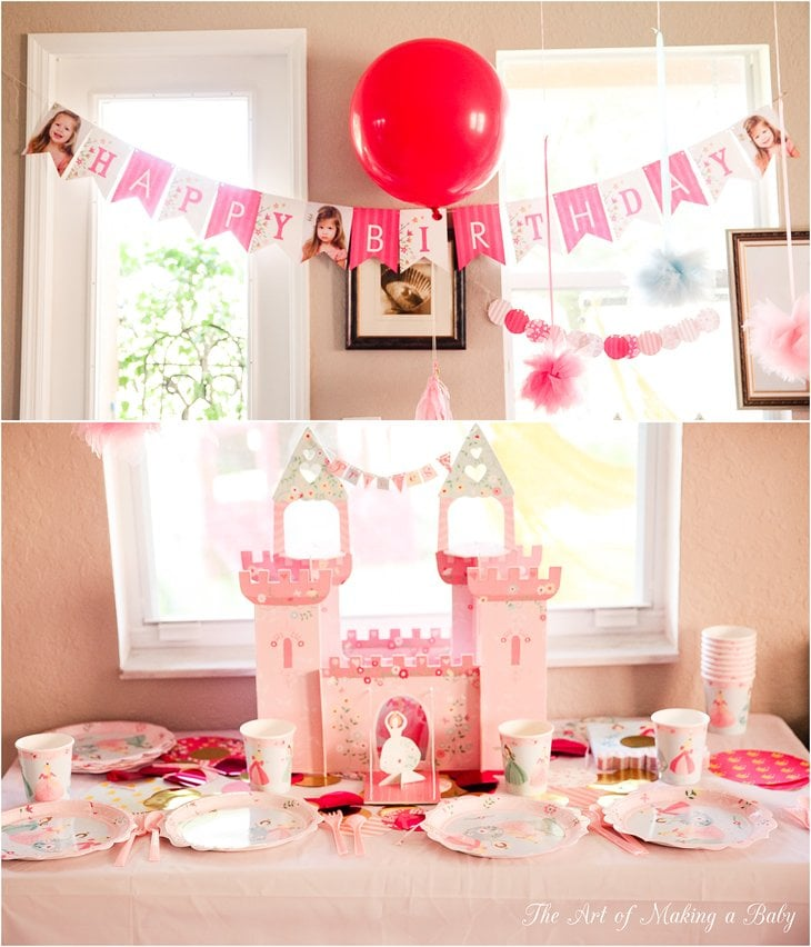 Princess And Pirates Birthday Party Decorations