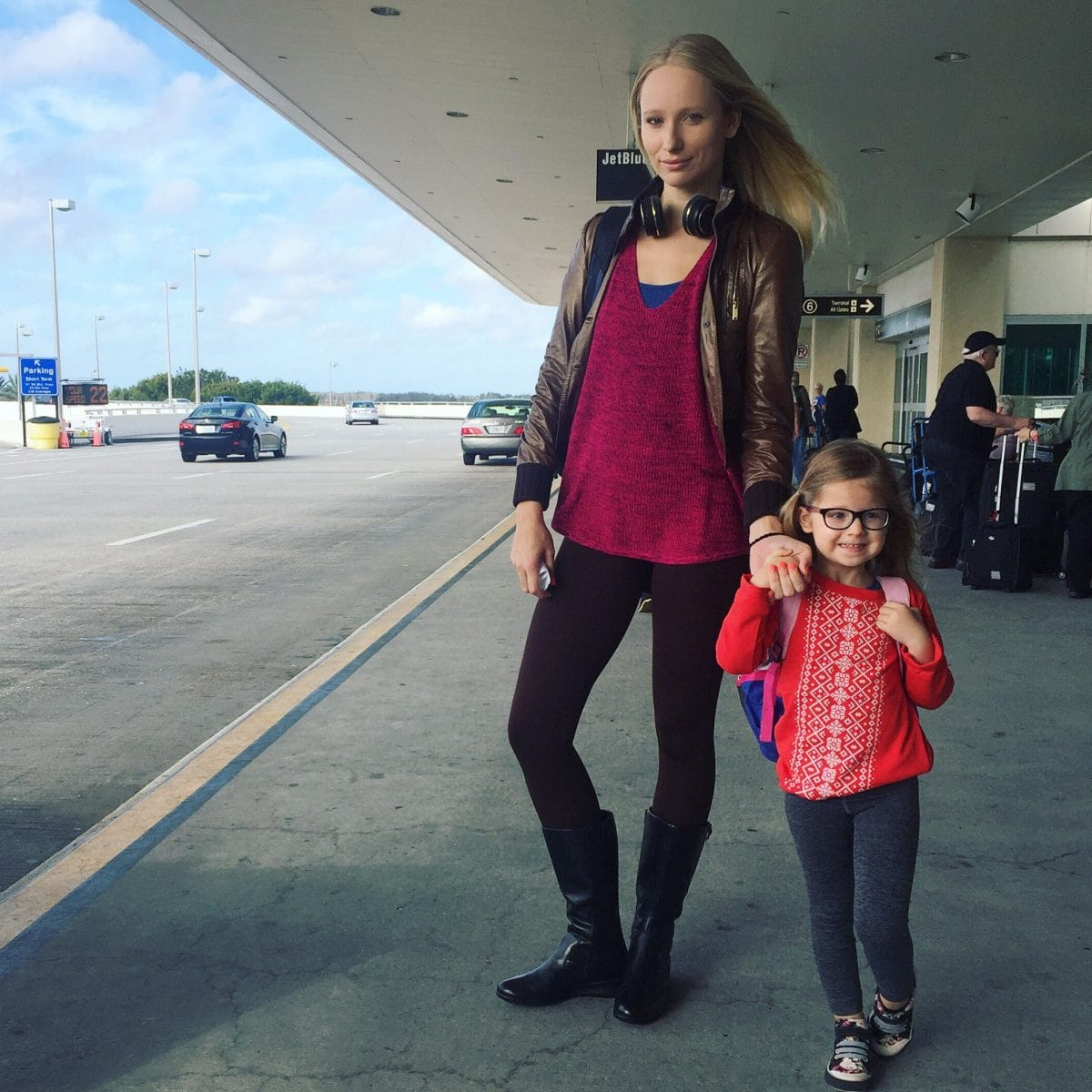 Breastfeeding a 4 year old at the airport