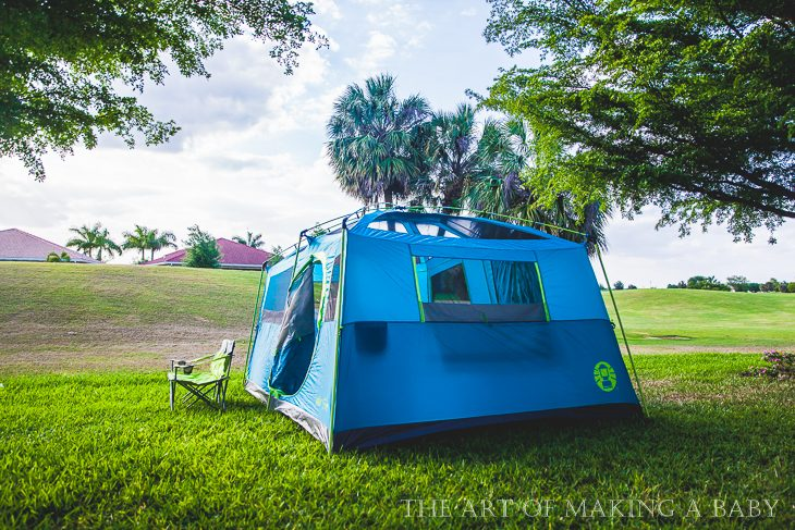 Let's go camping in Florida
