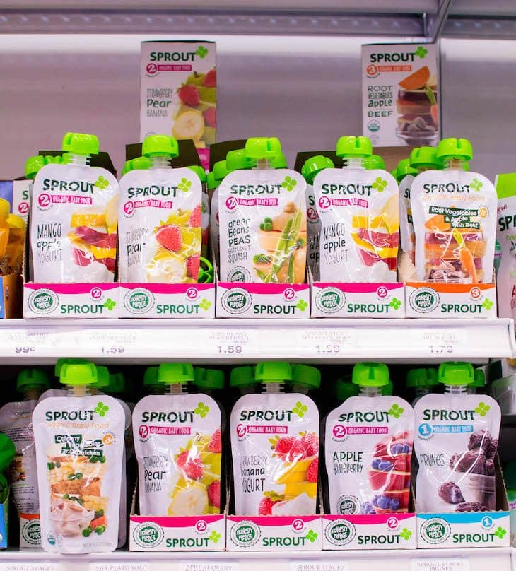 Whole Foods Baby Food Pouches