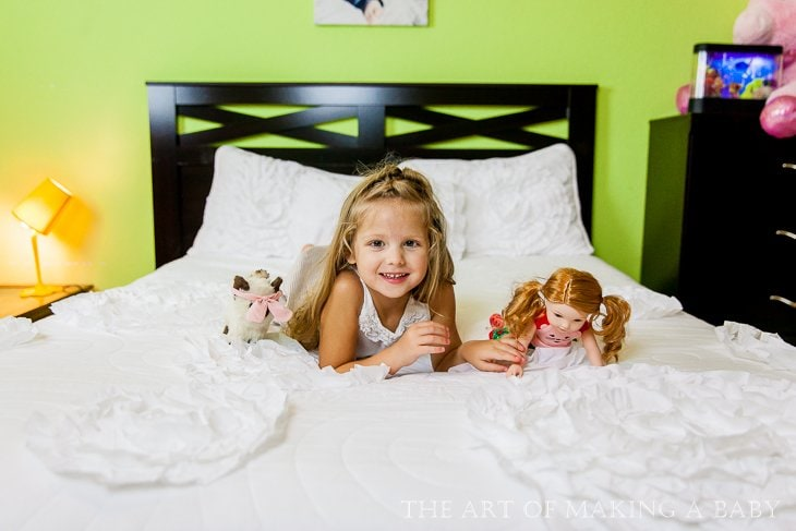 Toddler's Colorful Room Design: Sneak Peak Into Lexi's Room