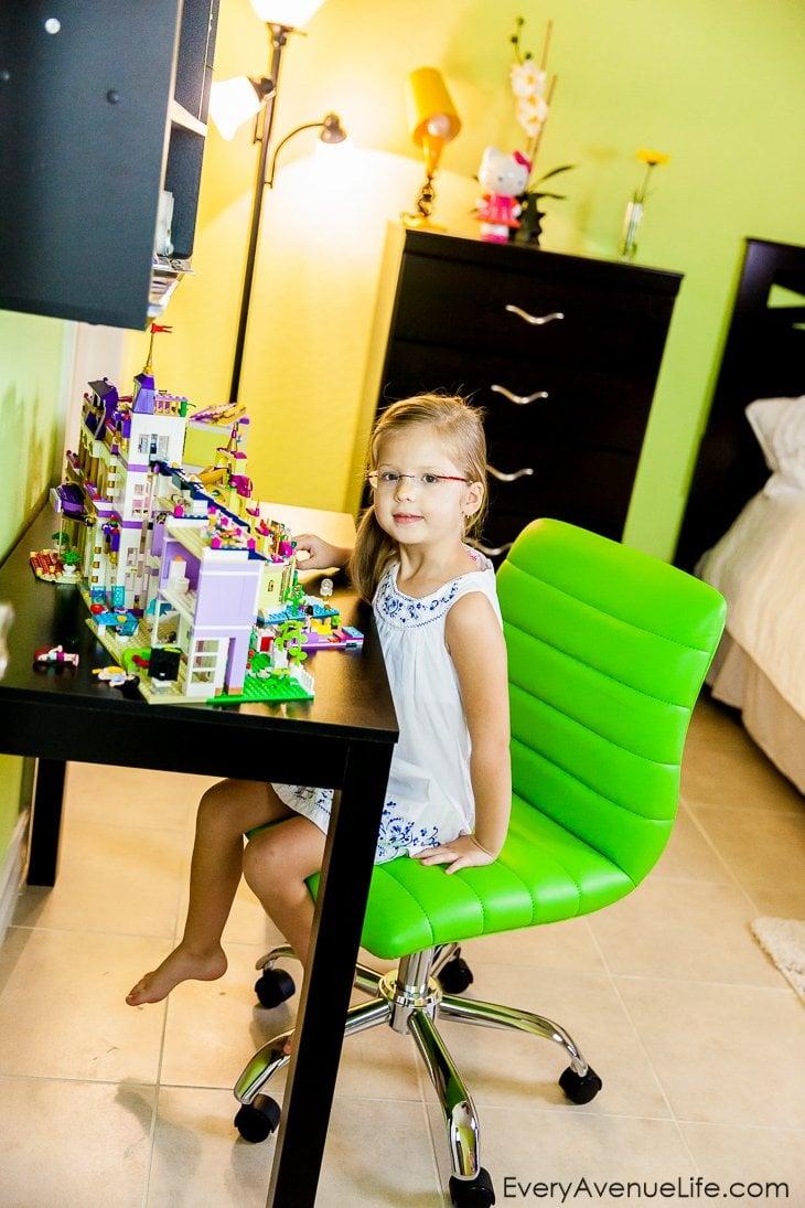 Toddler's Colorful Room design: sneak peak into Lexi's room