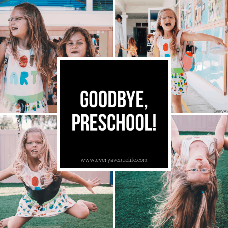 Goodbye, Preschool!