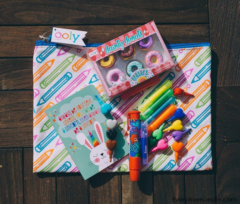 Birthday Favors: Art Party Ideas