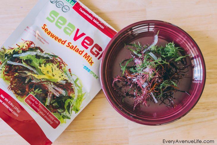 iHerb SeaSnax SeaVegi Seaweed Salad Mix