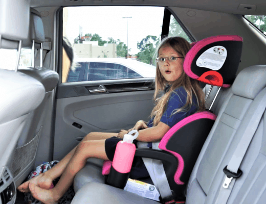 Switching to a Clek Oobr Highback Booster Car seat