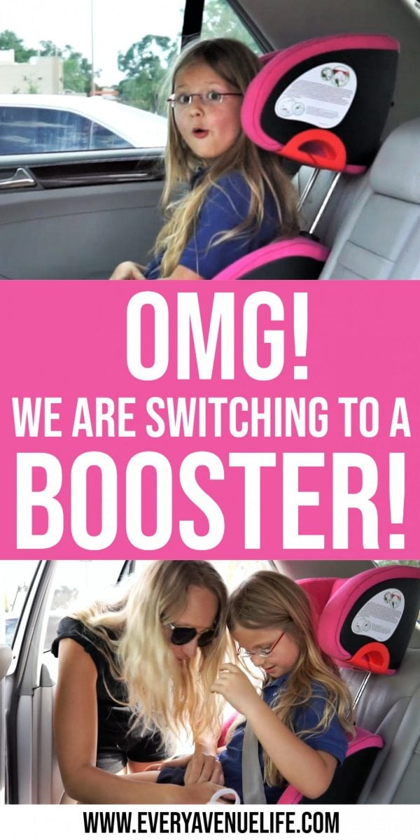Oh My God, We Are Switching To A Clek Oobr Booster Seat!!!