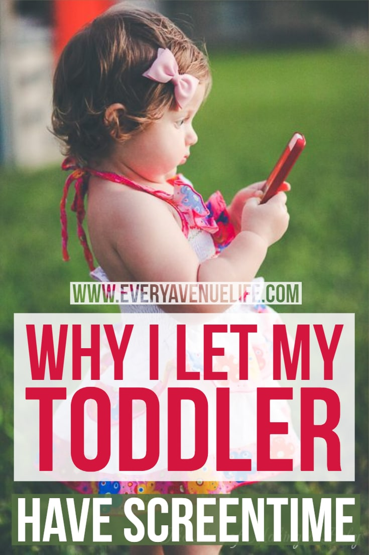My Screentime rules for My toddler and Why