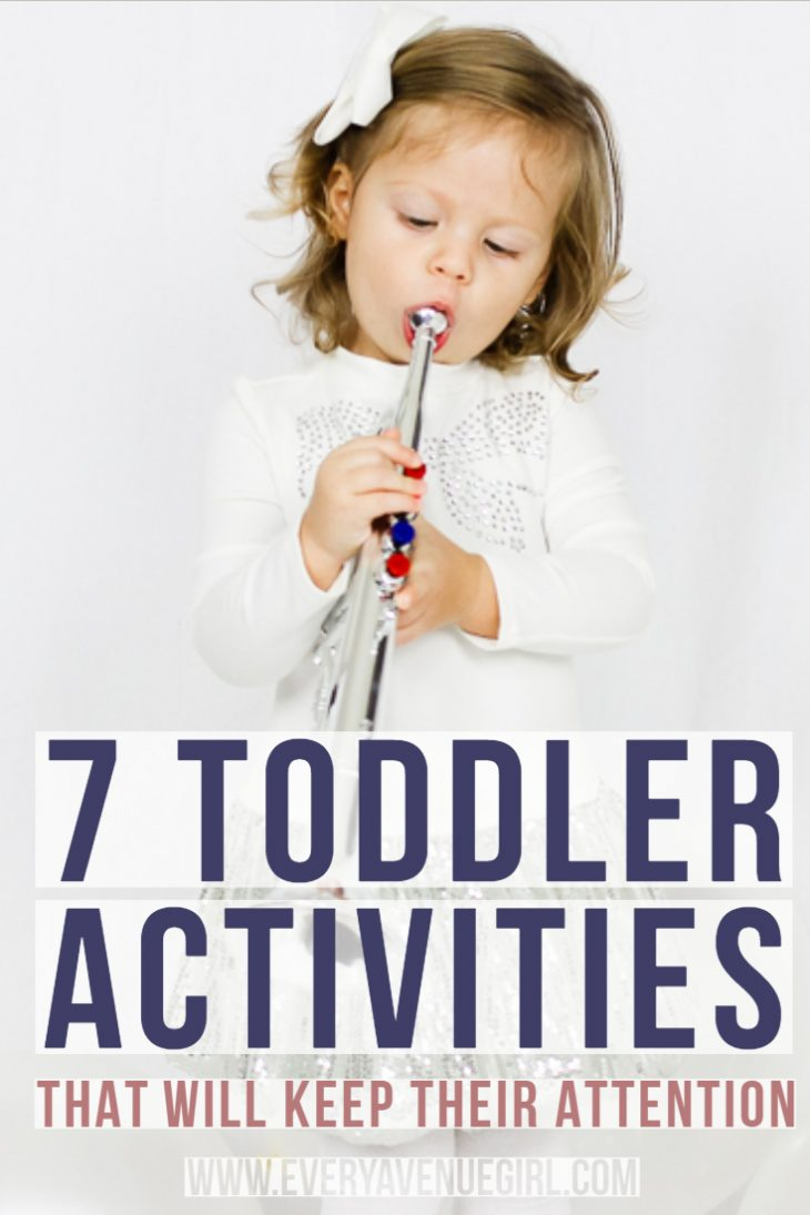 toddler activities that will keep their attention