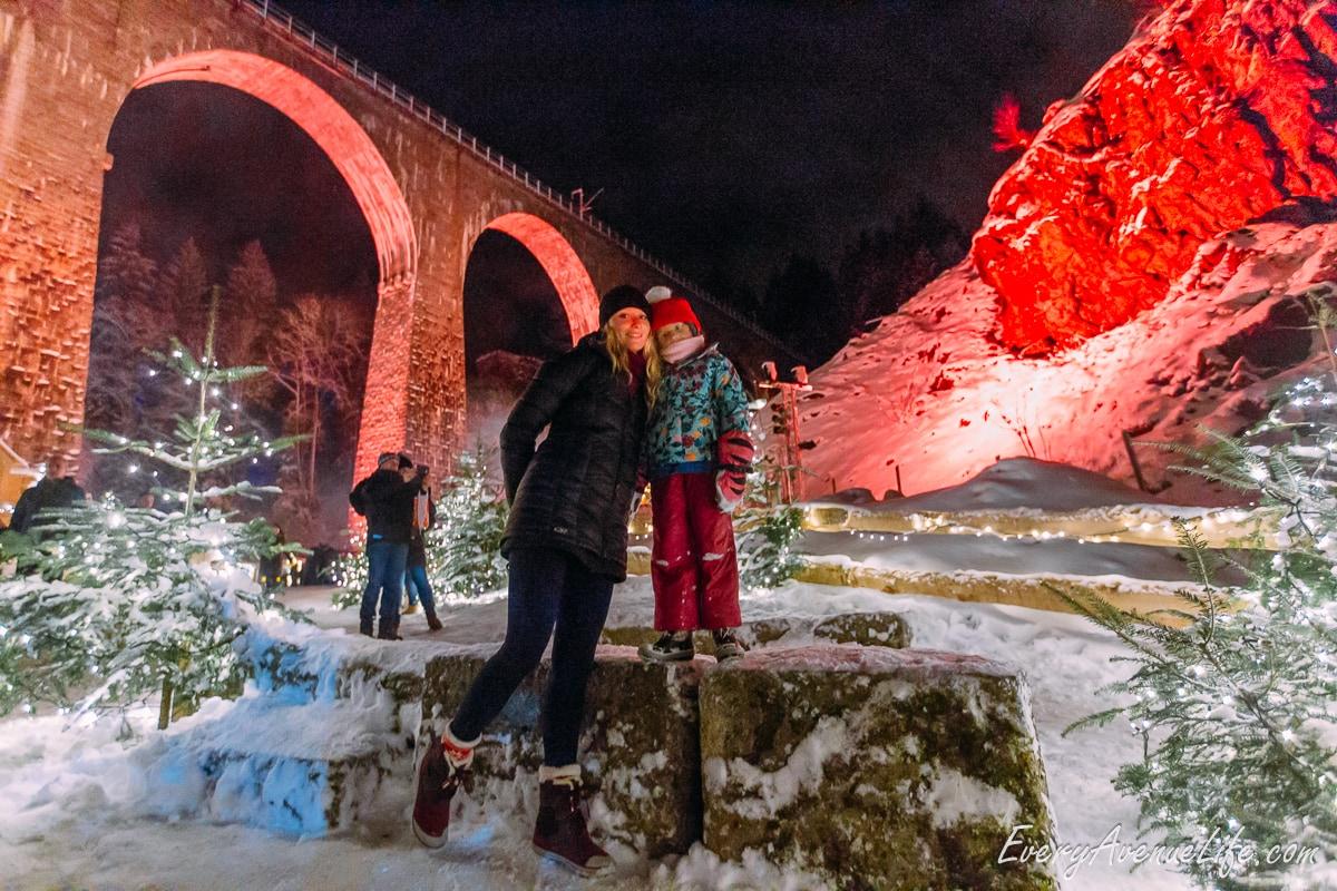 Mom Blog Ravenna Gorge Christmas Market in Germany