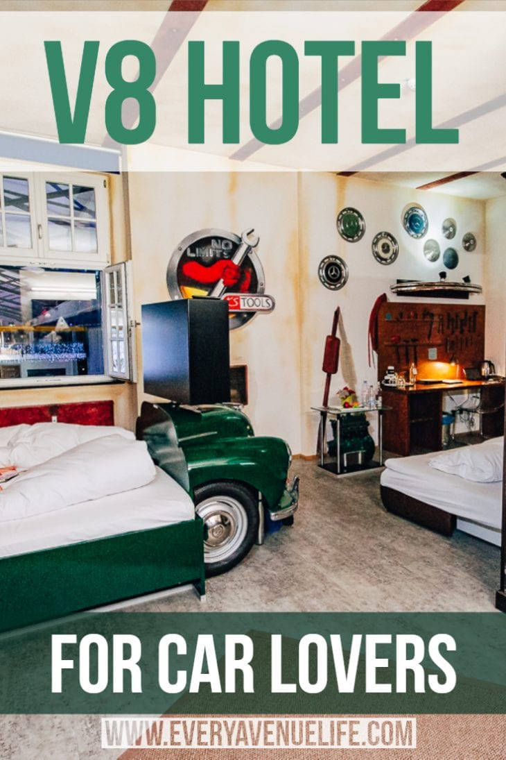 Mommy blog every avenue life v hotel for car lovers