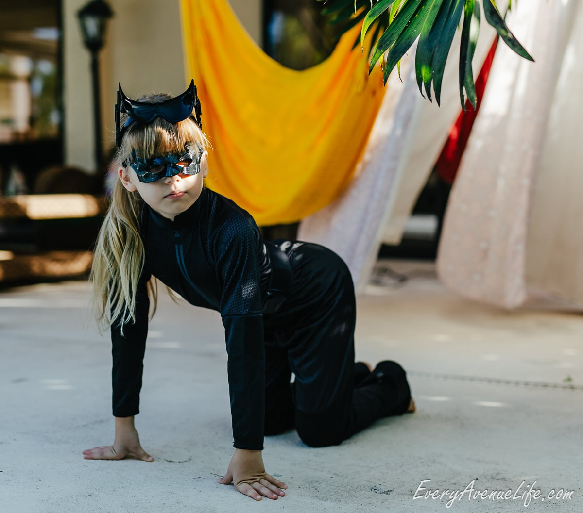 Moms blogging every avenue life Halloween catgirl costume