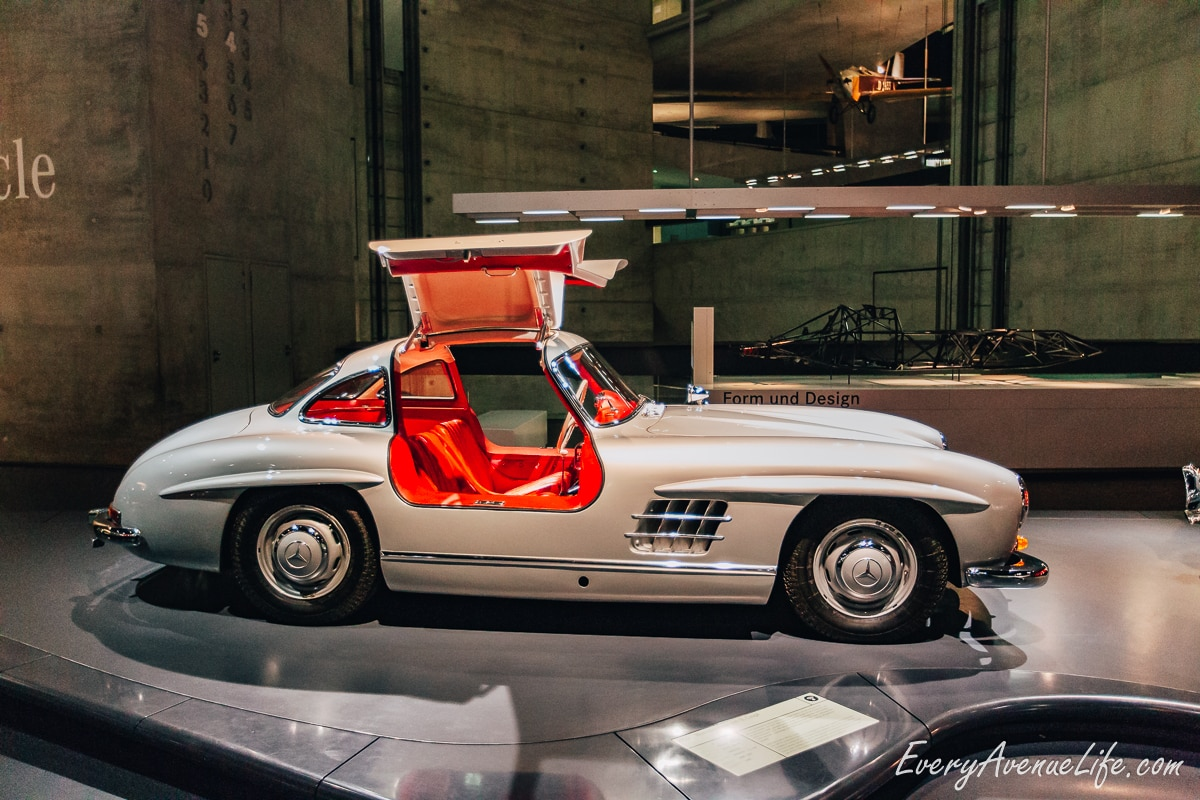 Mom Blog Mercedes Museum